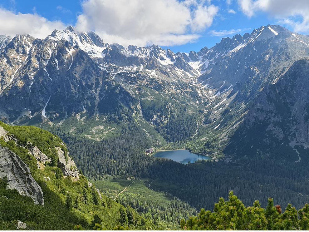 Mengusovská dolina a Zlomiská